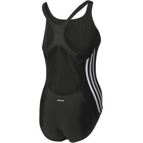 adidas Essence Core 3-Stripes Swimsuit Women black/white